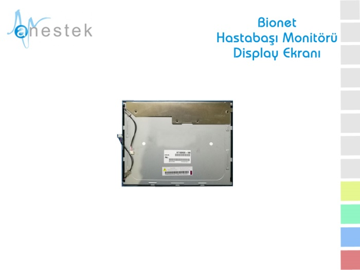 BIONET HASTABAŞI MONİTÖRÜ DISPLAY EKRANI