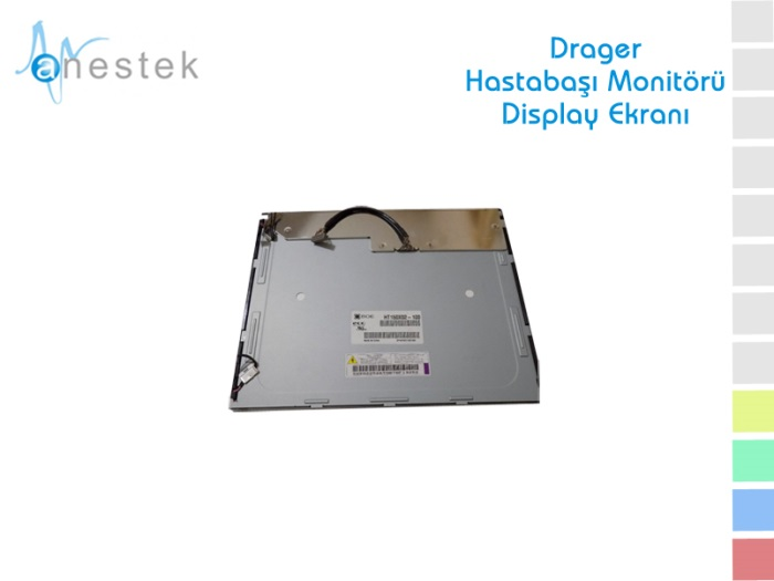 DRAGER HASTABAŞI MONİTÖRÜ DISPLAY EKRANI