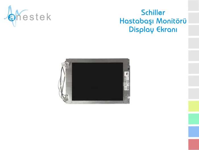 SCHILLER HASTABAŞI MONİTÖRÜ DISPLAY EKRANI